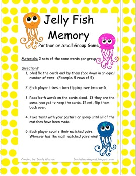 hillmade: Kids: Sight Word Memory |Sight Word Memory