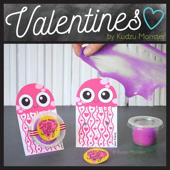 Jellyfish Slime Valentine