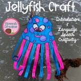Jellyfish Summer Speech Craft (articulation language) Craftivity