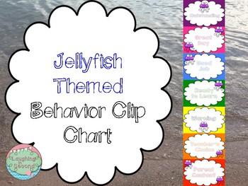 Jellyfish Themed Behavior Chart