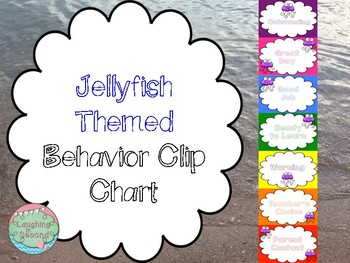 Jellyfish Themed Behavior Chart