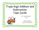 Jellyfish Triple Digit Addition and Subtraction Review