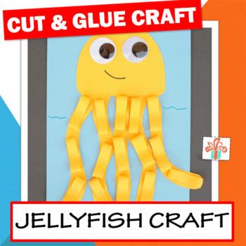 Ocean Animal Craft Jellyfish Craft Summer Craft