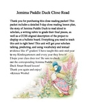 Jemima Puddle Duck Close Read