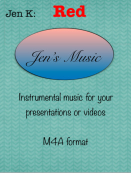 """Jen K:  """"Red"""" - Music for Your Presentations or Videos"""