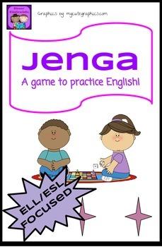 Jenga- A modified ESL game!