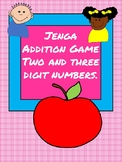 Jenga Adding and Subtracting two and three digit numbers 4.NBT.B.4