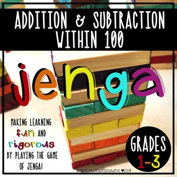 Jenga - Addition and Subtraction within 100