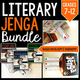 Jenga Bundle: Literary Jenga, Informational Text Jenga, & Creative Writing Jenga