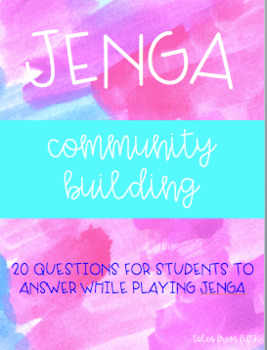 Jenga Community Building Game