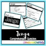 Jenga Comprehension Questions (Bloom's Taxonomy)