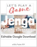 Jenga - Editable Google Download
