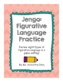 Jenga: Figurative Language Review