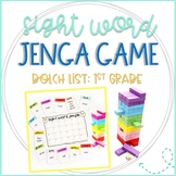 Jenga Dolch Sight Words Game for First Grade List