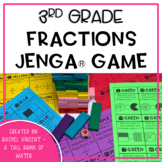 Jenga Game - Fractions for 3rd Grade