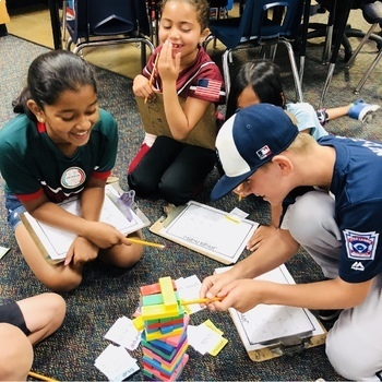 Jenga Math Game Cards: 0-20 Subtraction Fact Practice and Review