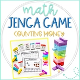 Math Jenga Game Cards for Counting Money