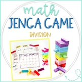 Math Jenga Game Cards for Division