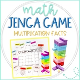 Math Jenga Game Cards for Multiplication Facts