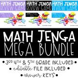 Math Jenga Bundle
