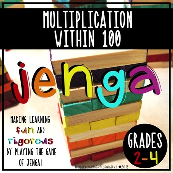 Jenga - Multiplication Within 100