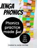 Jenga Phonics: CVC and CVCe Words