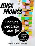 Jenga Phonics: Consonant Blends & Consonant Digraphs