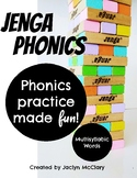 Jenga Phonics: Multisyllabic Words