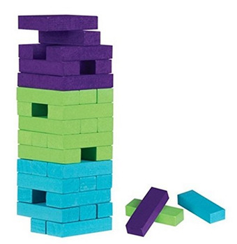 Jenga Study Game: Constitution and the Bill of Rights