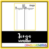 Jenga Worksheet