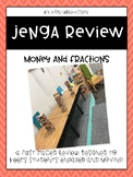 Jenga money and fraction review