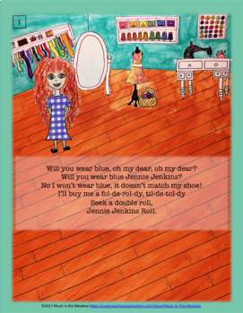 Jennie Jenkins, An Animated Song Tale ebook
