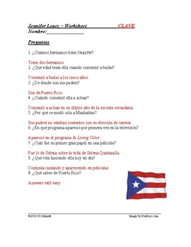 Jennifer Lopez Biografía - JLo Biography in Spanish and English **BILINGUAL**