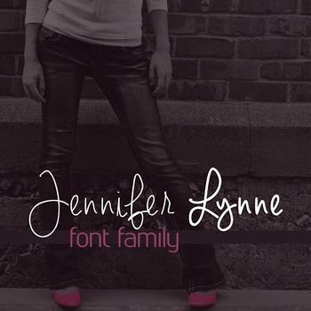 Jennifer Lynne Font Family for Commercial Use