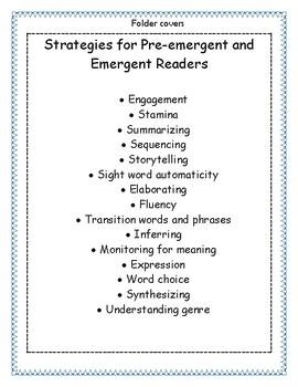 Jennifer Serravallo Reading Strategies Book Organization Kit