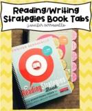 Jennifer Serravallo's Reading and Writing Strategies Book Tabs
