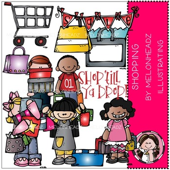 Melonheadz: Shopping clip art - COMBO PACK