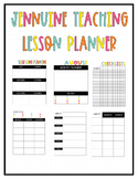 Jennuine Teacher Lesson Planner {EDITABLE and LIFETIME UPDATES}