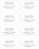 Jenny Business Cards