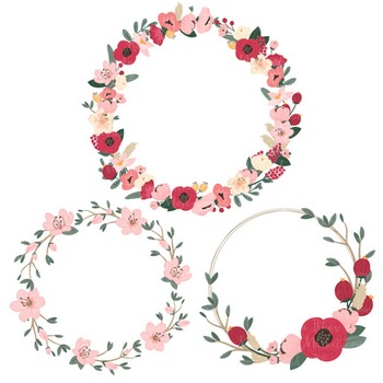 Jenny Floral Wreaths & Bouquets in Rose Garden