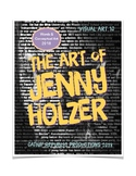 """""""Word Art"""" Project:  And the Art of Jenny Holzer"""