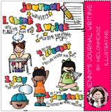Journal Writing clip art- by Melonheadz