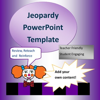 Jeopady Game PowerPoint Template