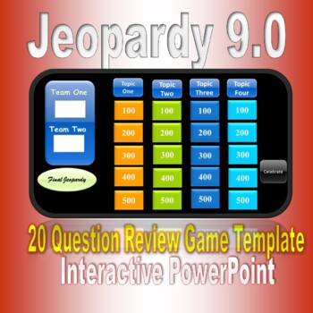 Jeopardy  5.2 PowerPoint Game Template
