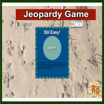Jeopardy 2 Interactive Games (easy)