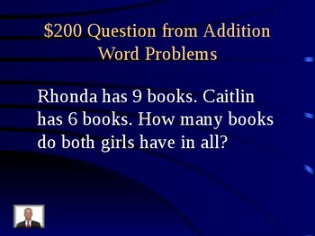 Jeopardy 2nd Grade Word Problems