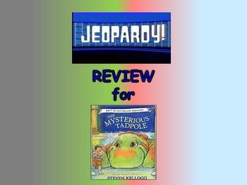 Journeys 2nd Unit 6 Bundle Jeopardy Review