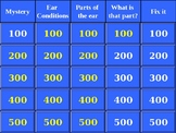 Jeopardy, Parts of the Ear