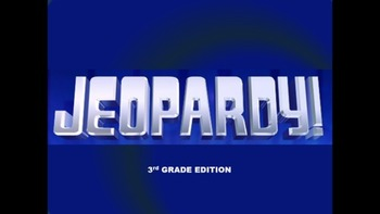 Jeopardy! 3rd Grade Edition
