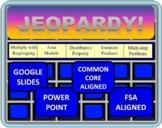Jeopardy 4th Grade FSA/ Common Core Multi-Digit Multiplication